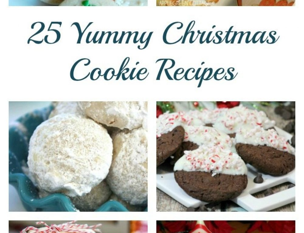 25 Yummy Christmas Cookie Recipes