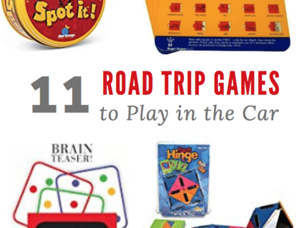 11 Road Trip Games to Play in the Car