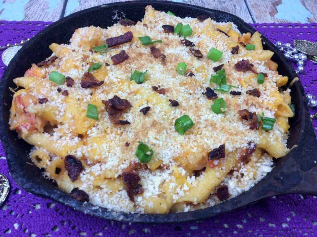 Cajun recipe mac and cheese with shrimp and crawfish