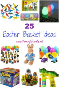25 Easter basket ideas all of which can be bought online.