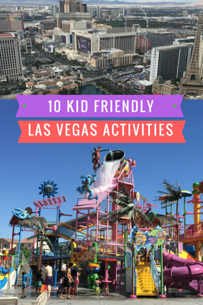 10 Kid friend activities in Las Vegas