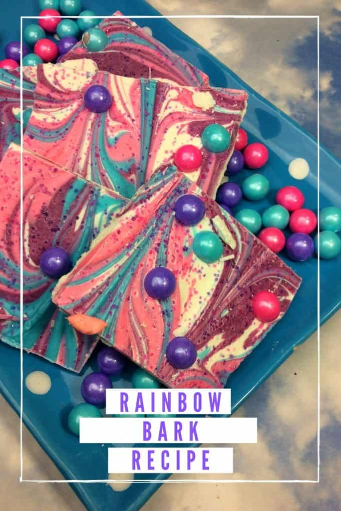 Rainbow Bark Recipe
