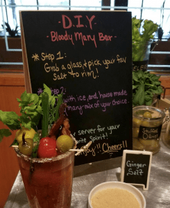 SweetWaters on the River Bloody Mary Bar