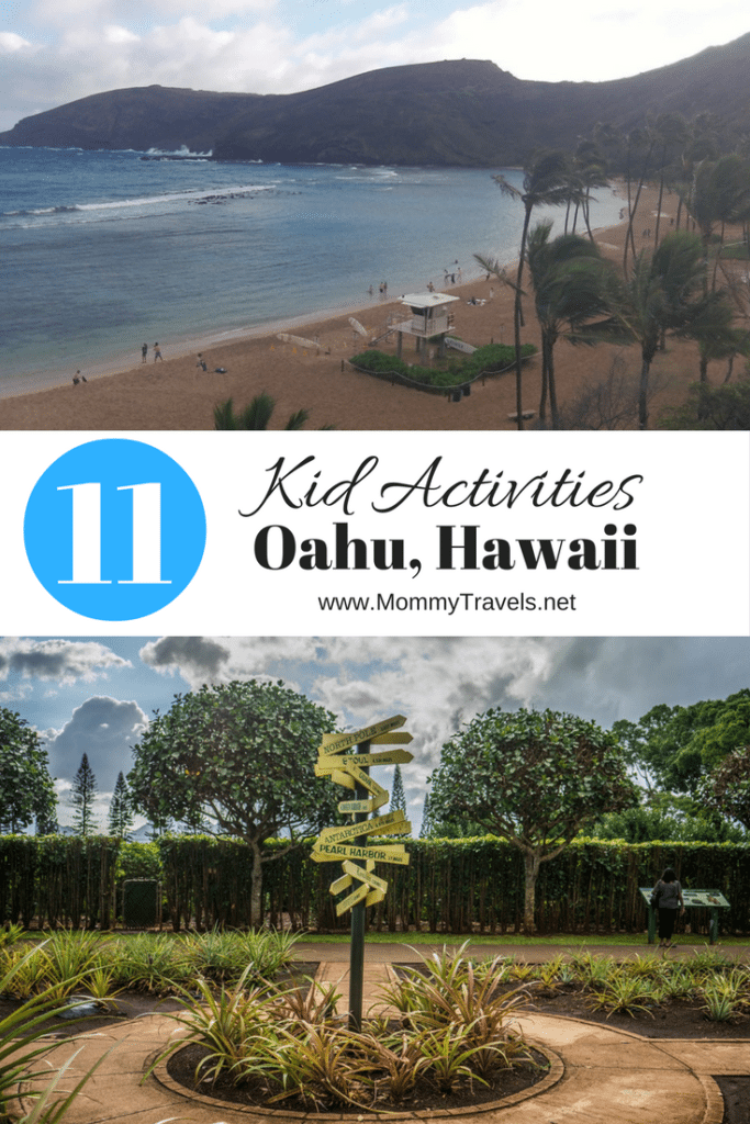 11 activities for kids in Oahu Hawaii