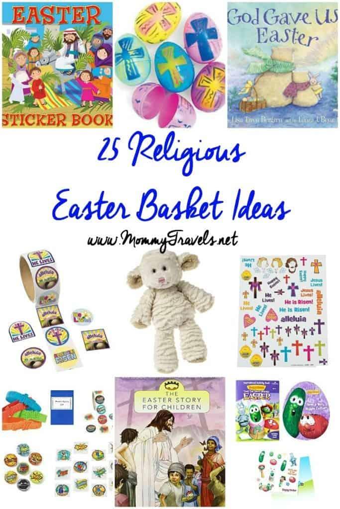 25 religious Easter basket ideas for kids