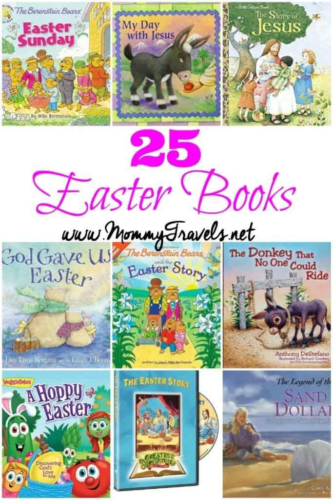 25 Easter books for kids.