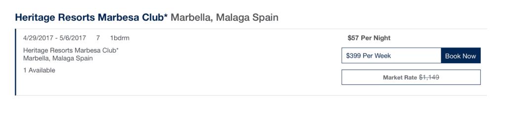 Spain military discount