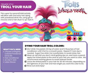 Create Troll Hair