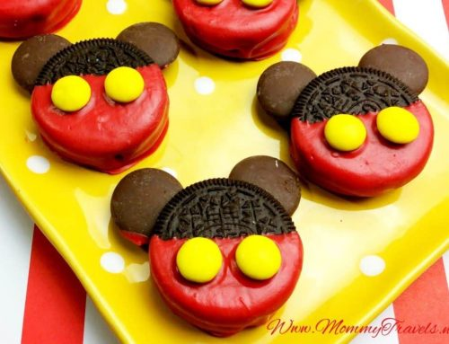 Mickey Mouse Oreos and Fudge