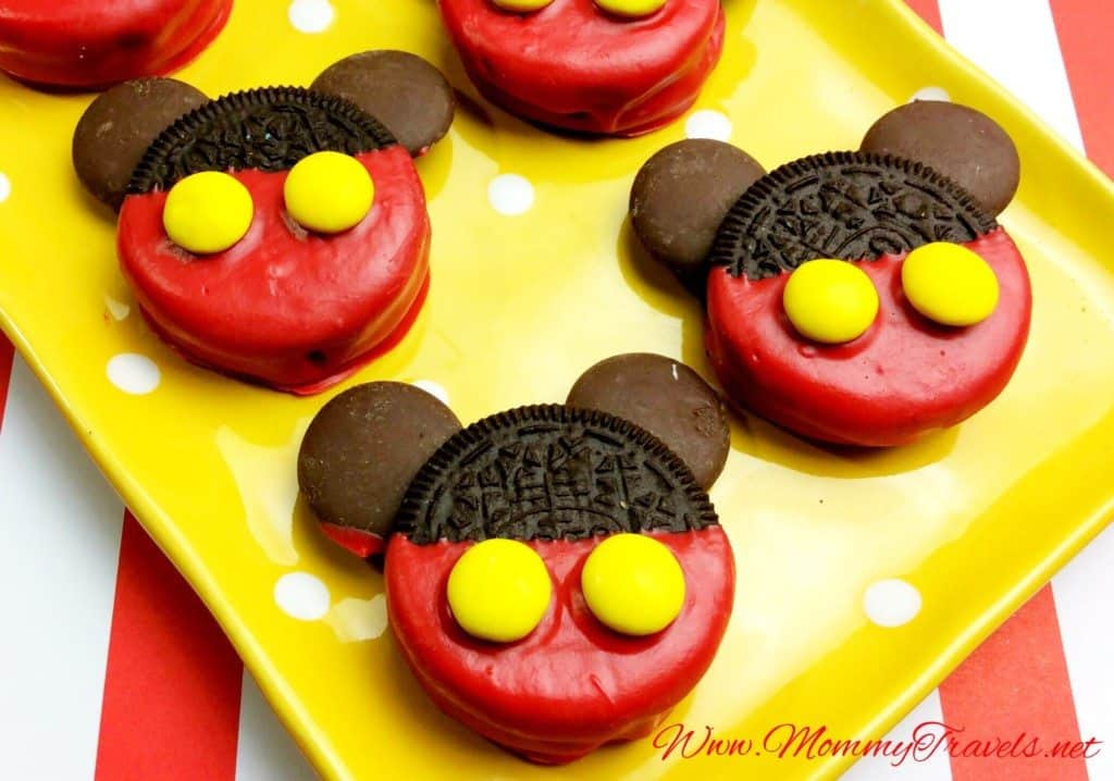 Mickey Mouse Oreo Cookies