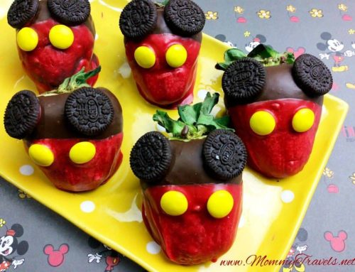 Mickey Mouse Chocolate Covered Strawberries