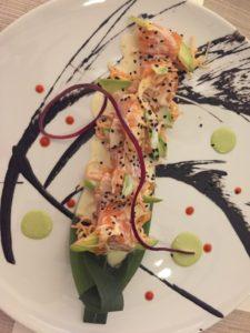 Sushi at Hotel Mousai