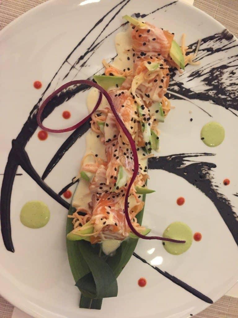 Hotel Mousai sushi