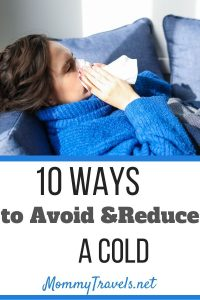 10 Ways to avoid and reduce a cold