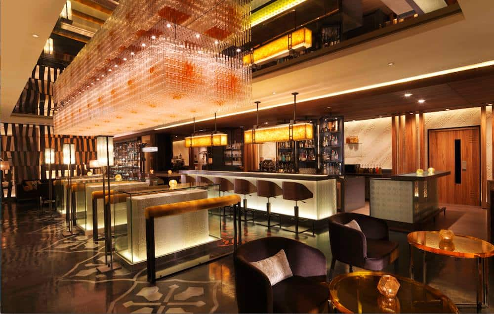 Anti:dote an awesome cocktail bar at Fairmont Singapore