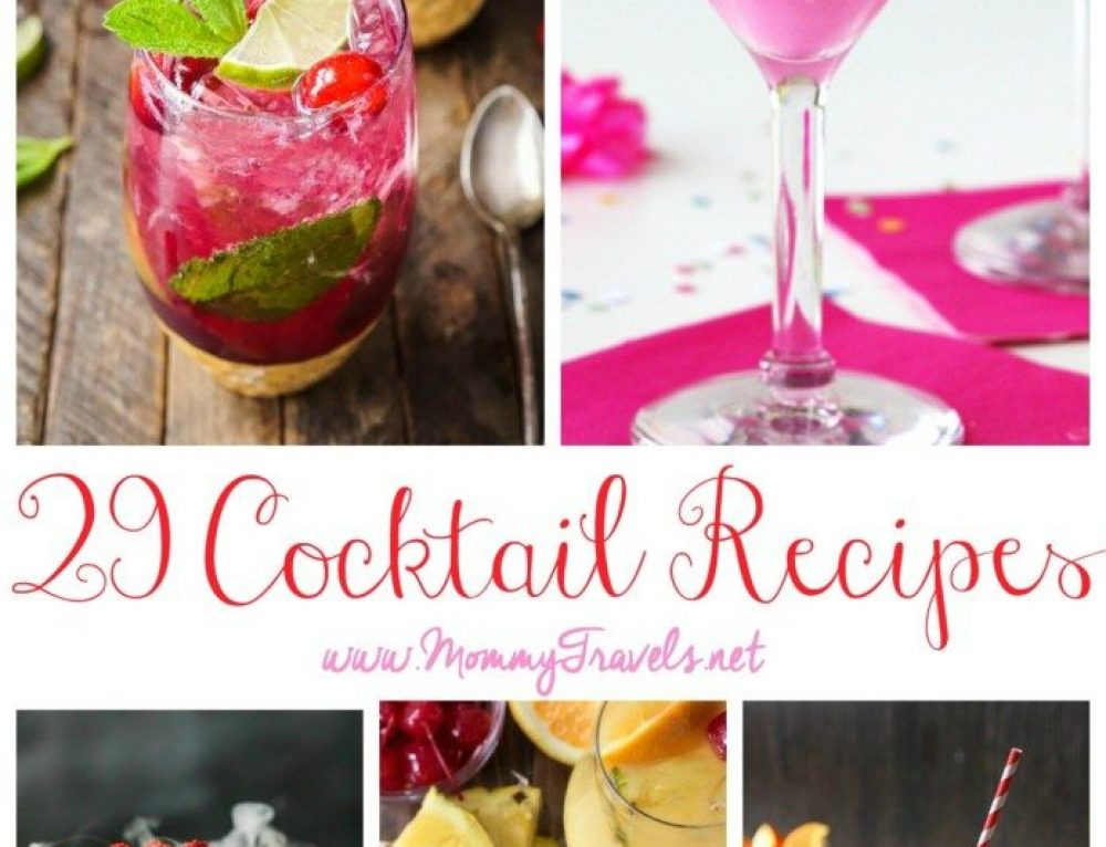 29 Cocktail Recipes