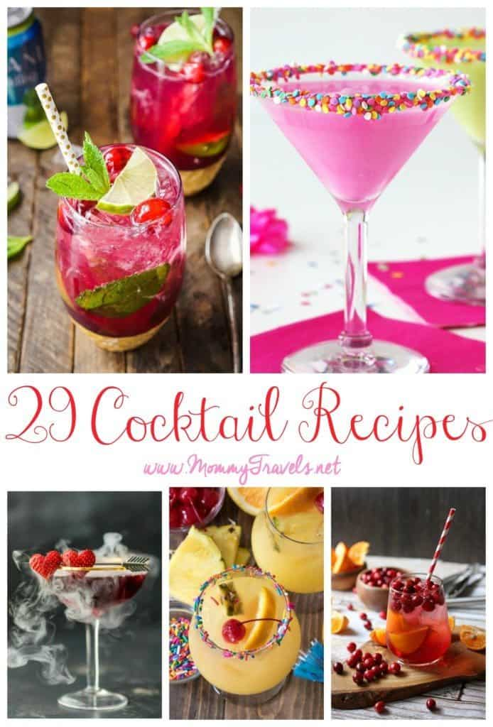 29 Cocktail recipes for any occasion