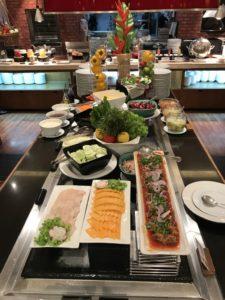 buffet at Novotel Phuket Surin