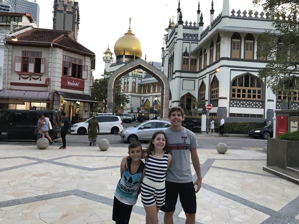 The Arab Quarter in Singapore