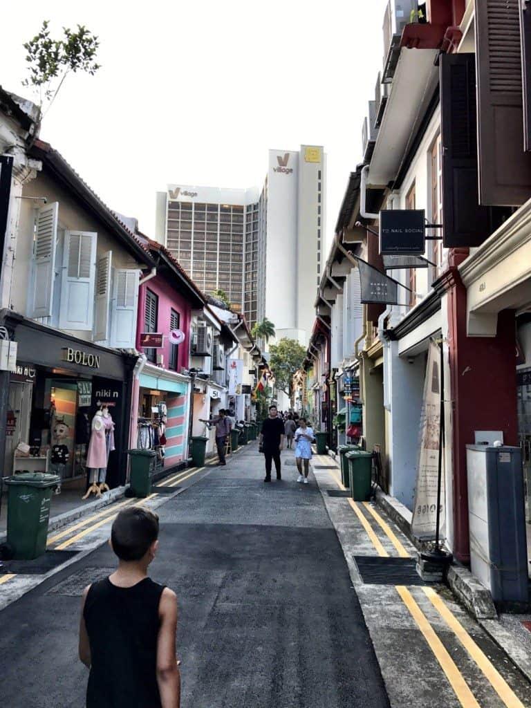 Arab quarter in Singapore
