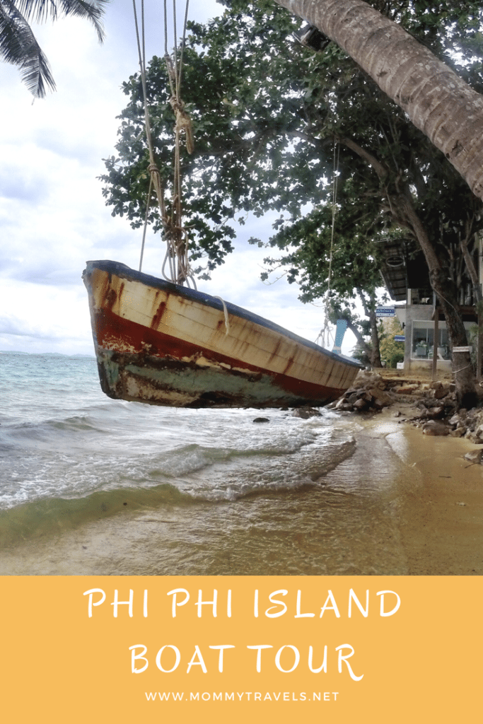 Taking a boat tour out to Phi Phi Island is a must do when you are in Phuket, Thailand.