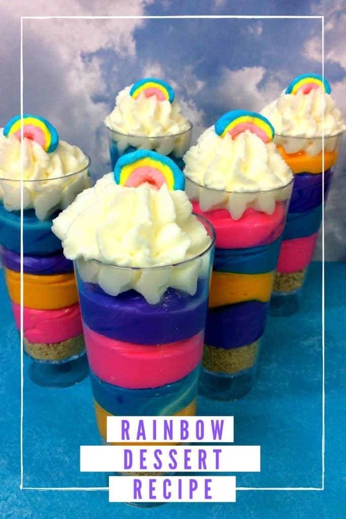 Rainbow Dessert Recipe