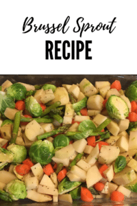 Brussels Sprout Bake makes a perfect side dish and it's vegan!