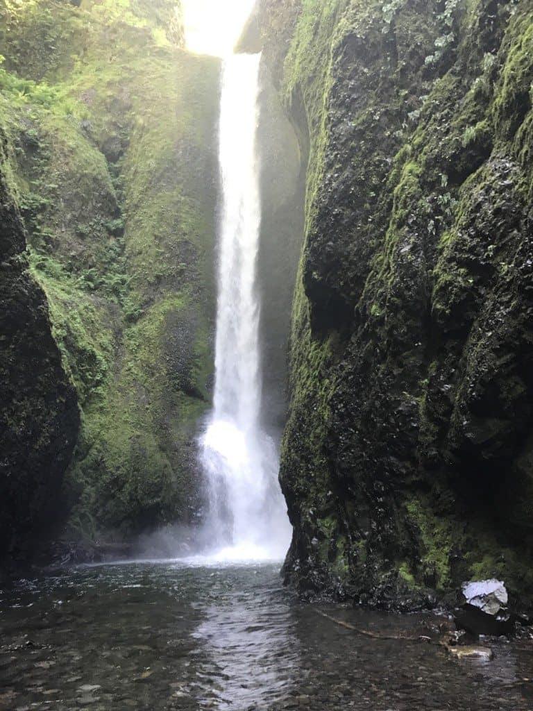 Oneonta Gorge Waterfall