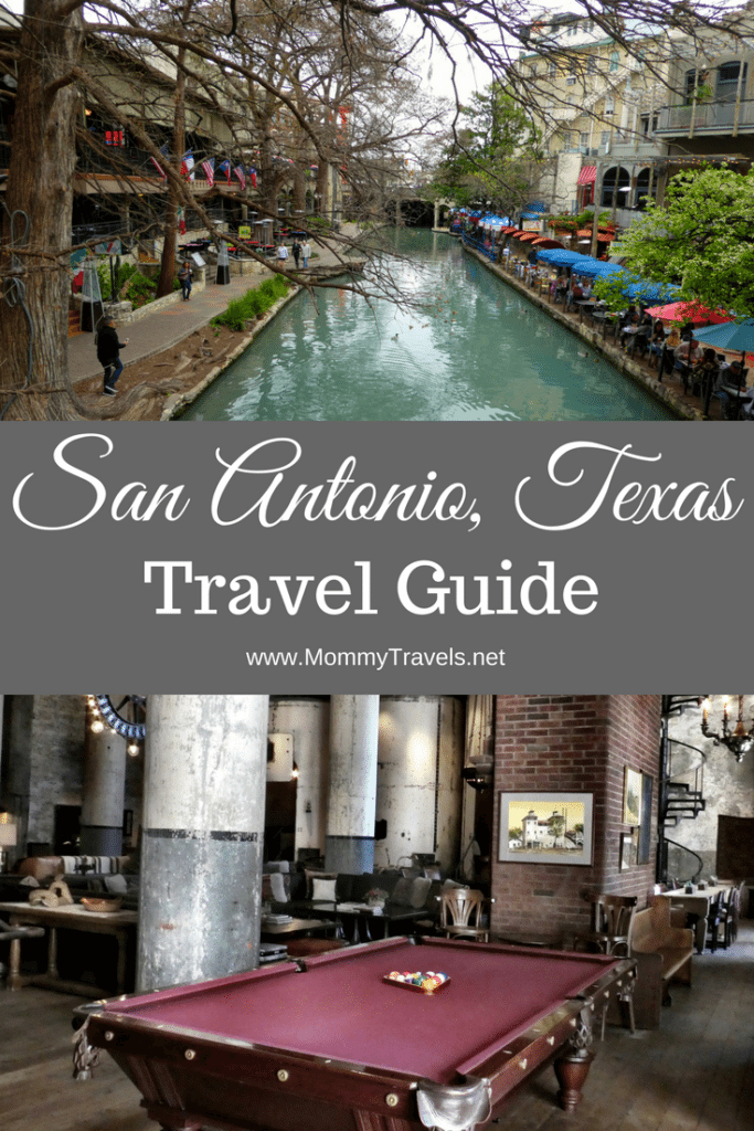 San Antonio Travel Guide including suggested activities, restaurants, and hotels