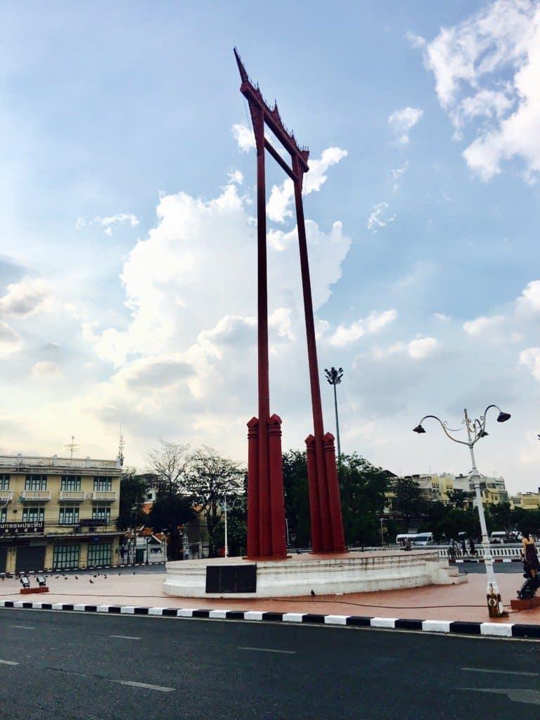 The Giant Swing in Bangkok