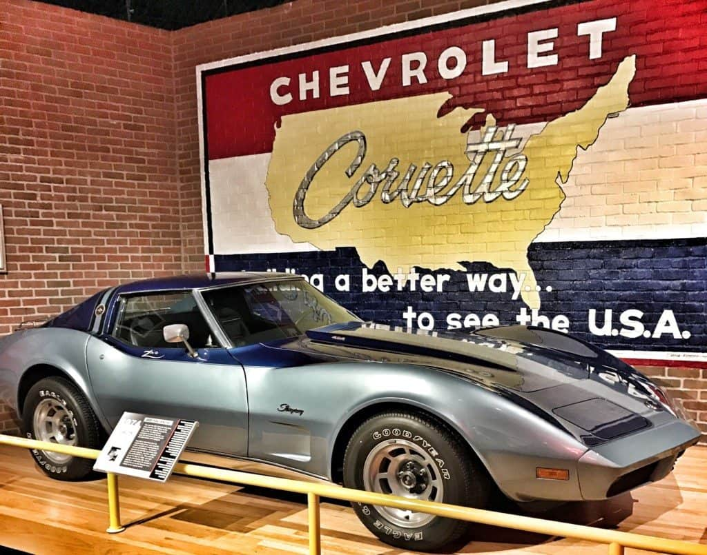 The National Corvette Museum in Bowling Green, Kentucky.