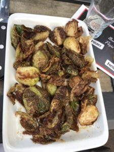 Brussel Sprouts at Ringside Grill