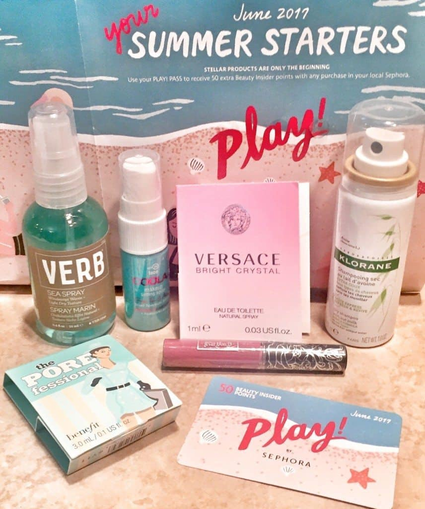 Sephora Play Box - June 2017