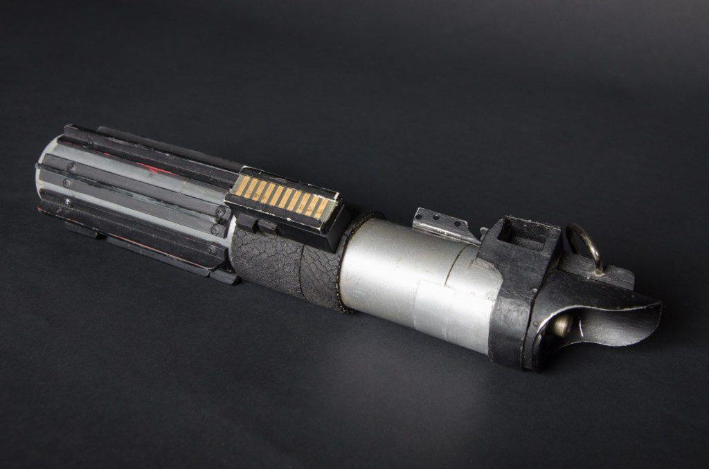 the light saber used by Luke Skywalker in the scene where Darth Vader chopped his hand off.