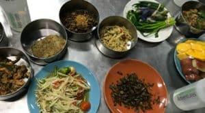 Grasshopper food tour in Chaing Mai, Thailand