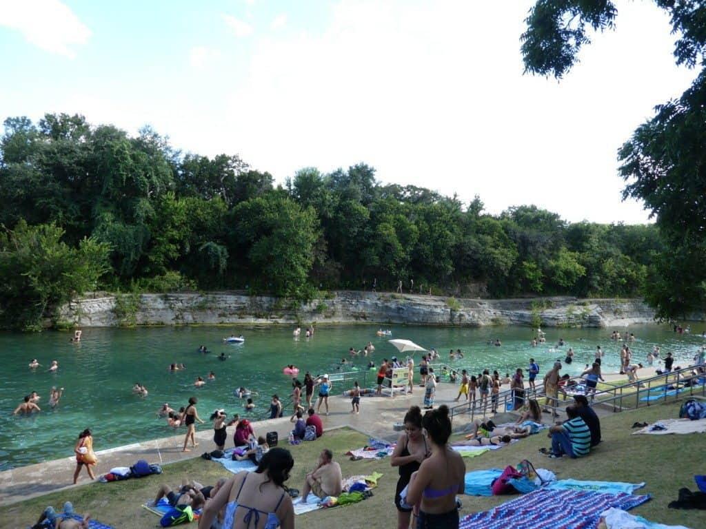 Barton Springs in Austin, Texas