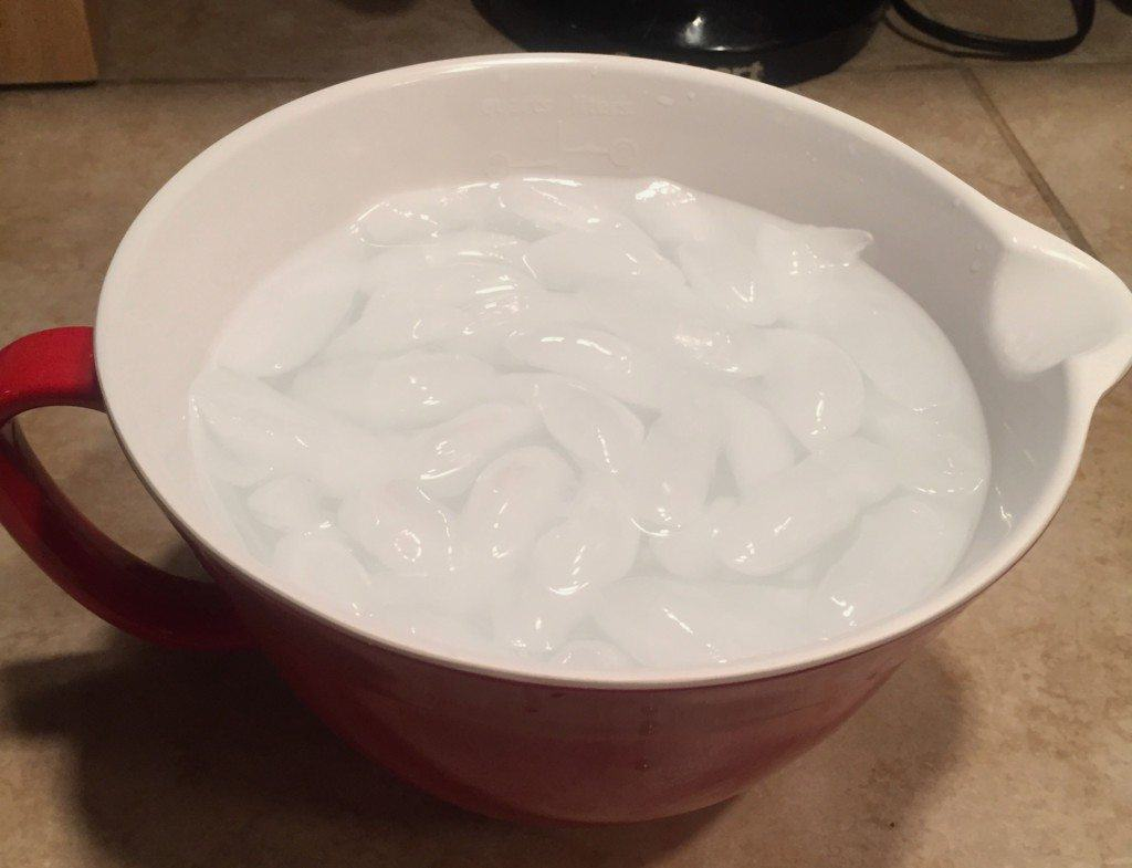 Ice facials - Learn how to give yourself an ice facial