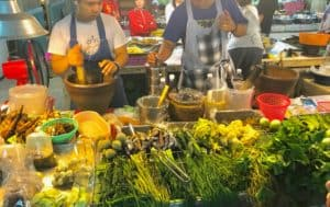 wet market in Thailand