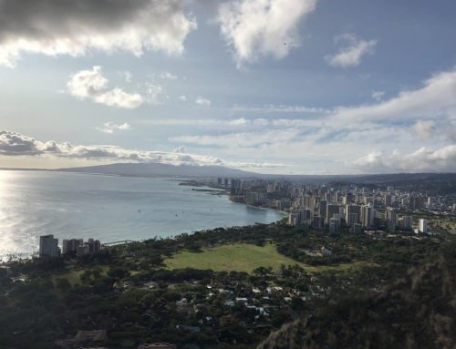Hiking Diamond Head in Oahu, Hawaii with Kids