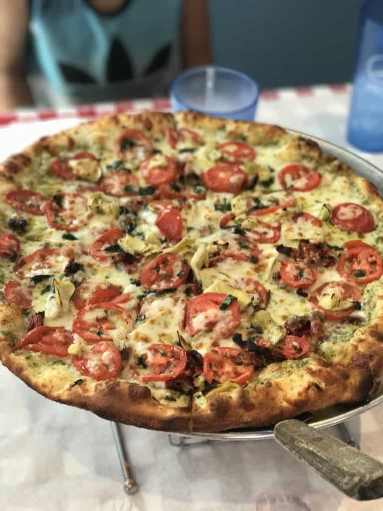 Blue Moose Pizza in Vail, Colorado