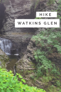 Hike Watkins Glen one of the most beautiful hikes in the United States.