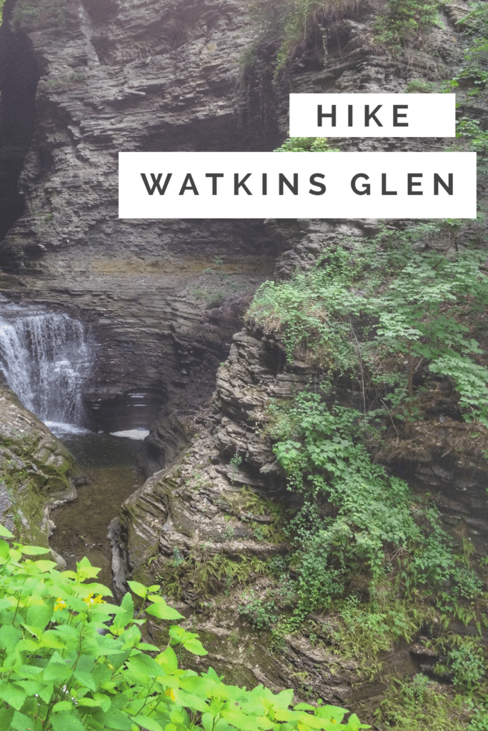 Hike Watkins Glen State Park to see beauty all around and lots of waterfalls.