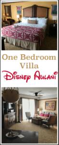 One bedroom villa at Disney Aulani