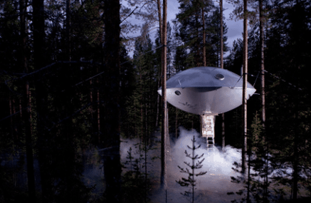 UFO at TreehotelUFO at Treehotel