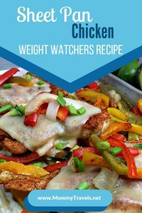 Weight Watchers Chicken - a sheet pan recipe