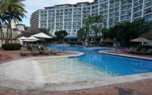 swimming pool at Fiesta Americana