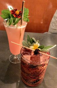 Cocktails at Quaintrelle