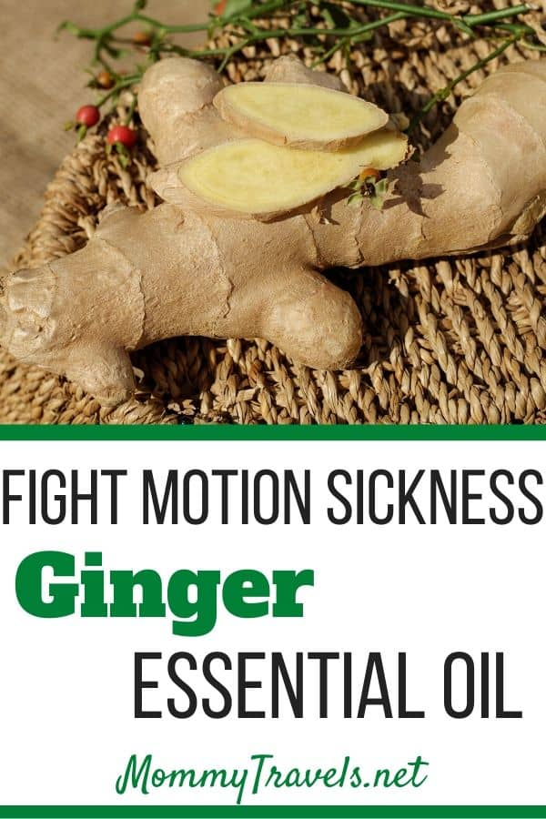 Fight motion sickness with ginger essential oil
