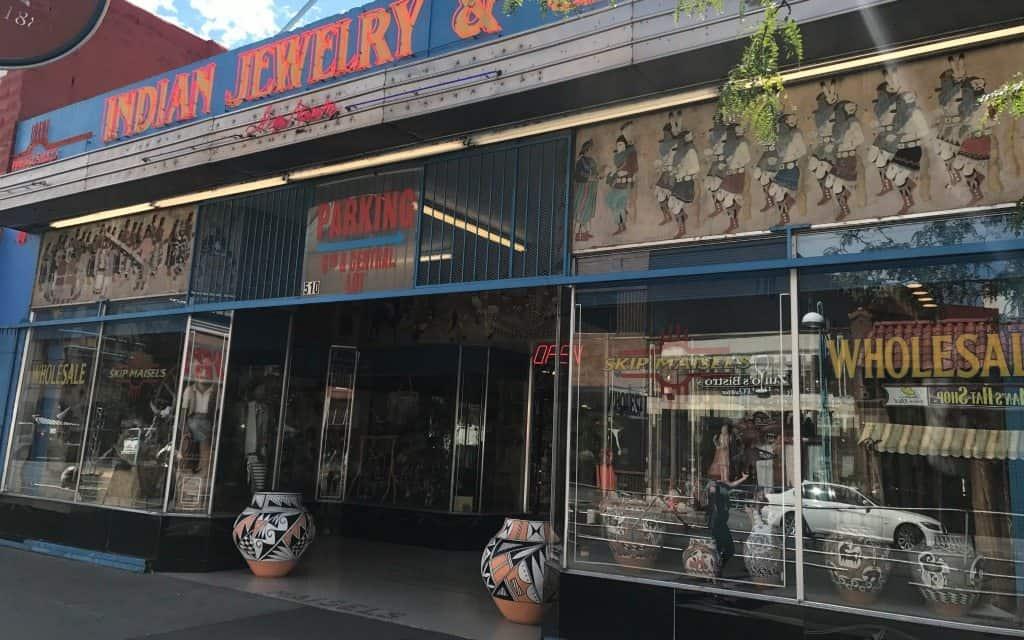Turquoise Jewelry shop in Albuquerque