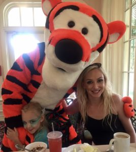 lunch with Tiger at Disney World